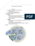 Cell Division Notes