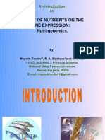 An Introduction on Nutrigenomics