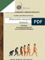 Dimensión biológica del ser humano