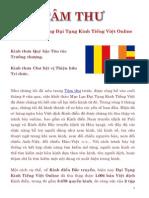 Tâm thư về việc xây dựng Đại Tạng Kinh Tiếng Việt Online