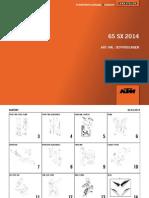 2014_65SX KTM PART MANUAL BOOK