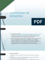 Taxonomia de Boulding Expo 3.2