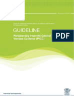 Peripherally Inserted Central Venous Catheter (PICC)