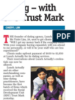 Dating agencies get Govt's seal of approval, 6 Nov 2009, My Paper