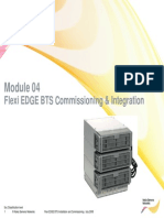 Module 04 Flexi EDGE BTS Commissioning & Integration