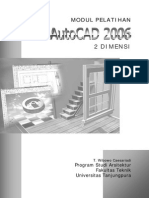 Twc AutoCAD2006 2D Modul