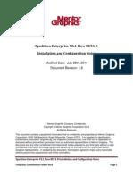 Xpedition Enterprise VX.1 Flow BETA D Installation and Configuration Notes