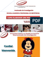 Como Hacer Una Monografia Obstetricia- Terapeutik