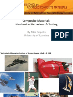 Mechanical Behaviour & Testing Properties