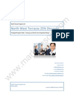 North West Terraces 25% Discount