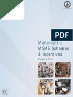Maharashtra MSME and Incentives Schemes 2014