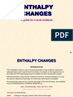 PPP Enthalpy Changes