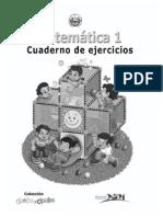 Varios Nivel Primario - Matematica 1 - Cuaderno De