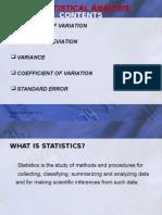 Statistical Analysis1