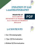 Derivatization in GC