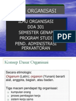 Organisasi 2009