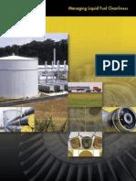 Managing Liquid Fuel Cleanliness