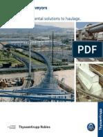 1015 TKR Pipe Conveyor 2003