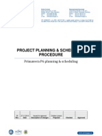Project Planning Procedure