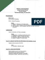 SpecPro - Syllabus (Chua 2014-2015)