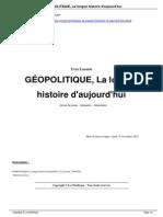 GEOPOLITIQUE La Longue Histoire d Aujourd Hui a4277