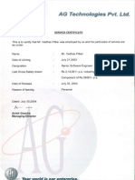 AG Service Cert