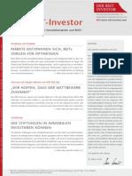 Der Reit-Investor Ausgabe November 2014