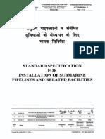 Pipeline Installation - 6-71-0066-Rev2
