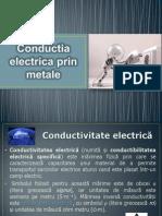 Conductia Electrica Prin Metale
