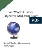 AP World History Midterm Exam