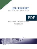 Case for Executive Coaching Lore Institute 2002