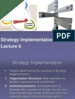 POM 6 Strategy Implementation