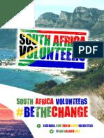 South Africa Volunteers Brochure