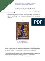 A Ciencia No Pensamento Especulativo Medieval