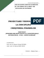 01-Sedinta 1 - Proiect Tehnologic Pasari