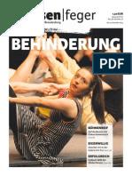 Ausgabe 22/2014 des strassenfeger - Behinderung