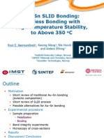Au-Sn SLID Bonding EMPC2009 Presentation