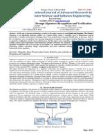 A Survey on Offline Prompt Signature Recognition and Verification