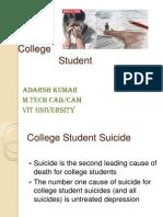 College Student Sucide