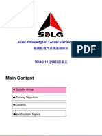 SDLG WHEEL LOADER 6 Electrical System-中英文