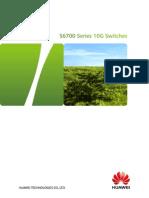 HUAWEI S6700 Switch Datasheet