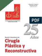 Cirugía plástica y reconstructiva Volumen 20 Nº 2 Diciembre 2014
