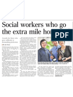 Social Workers who go the extra mile honoured, 2 Nov 2008, Straits Times