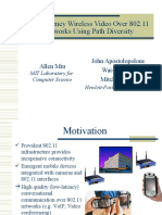 Video 80211 Path Diversity ICME03