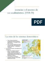 La democraciaa y el ascenso de los totalitarismos