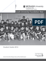MUFY Student Guide 2014