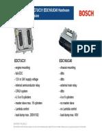 Comparacion EDC7UC31 vs EDC16UC40