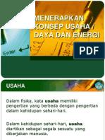 menerapkankonsepusahadayadanenergi-140326082959-phpapp01