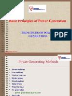 Principles of Power Generation