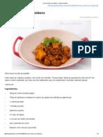 Carne Moída Com Abóbora - Blog Da Mimis